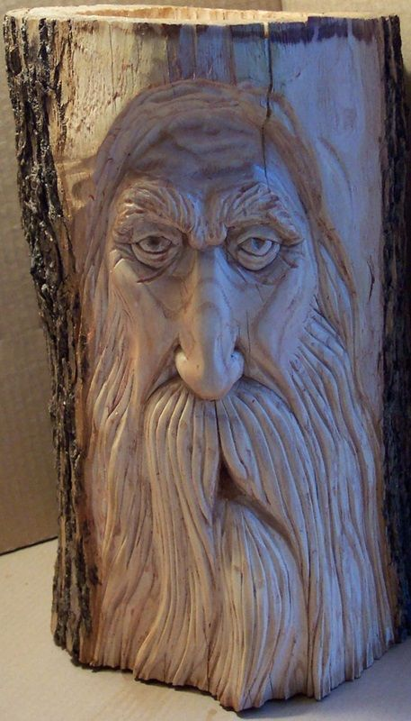 Woodspirit Carving  by Greg Hand.