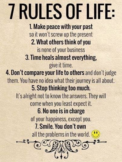 7 Rules of Life:
