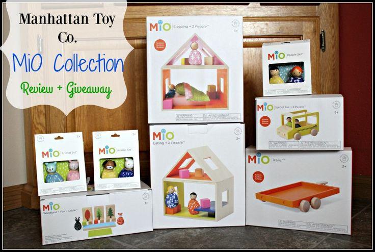 Manhattan Toy Company Presents ~ MiO Imaginative Play Collection