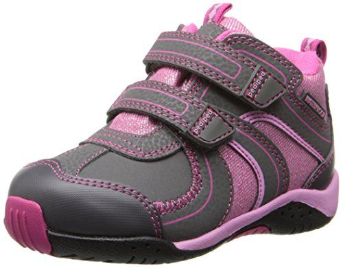 pediped Flex Boulder Shoe  (Little Kid/Toddler),Charcoal,...