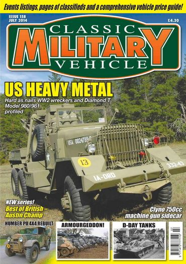 Classic Military Vehicle 158 July 2014