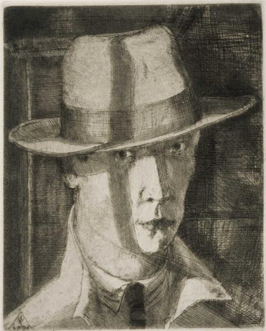Ilmari Väänänen: Self-portrait,1931