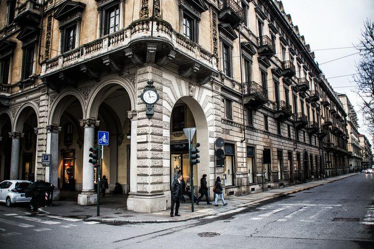 Orologio comunale corso Vittorio Emanuele #Torino