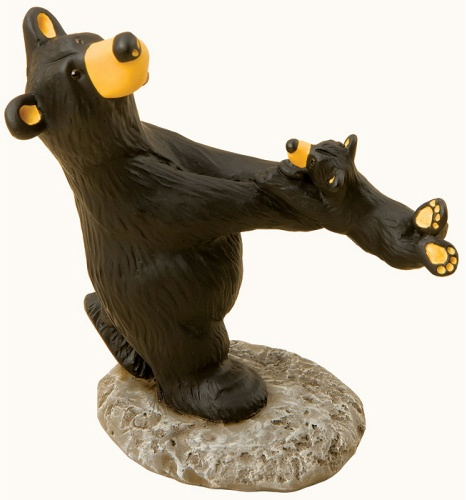 black bear figurines christmas tree shops - Black Bear Christmas Decor