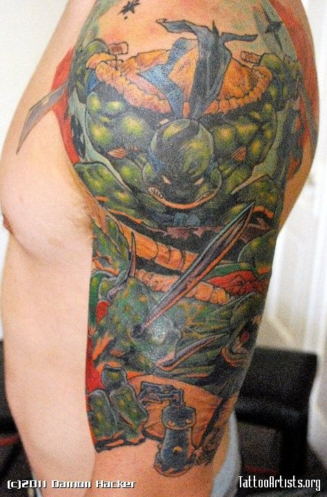 Ninja turtle comic tat