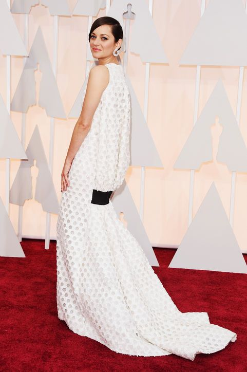 Marion Cotillard in Dior Haute Couture at the 2015 Oscars