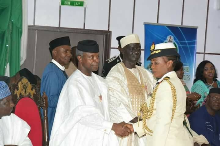 Awesome : Meet The First Northern Female General Appointed By The Nigerian Navy. Photos