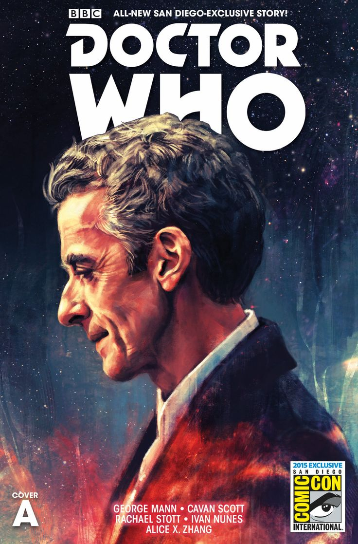 Doctor Who by Alice X. Zhang *