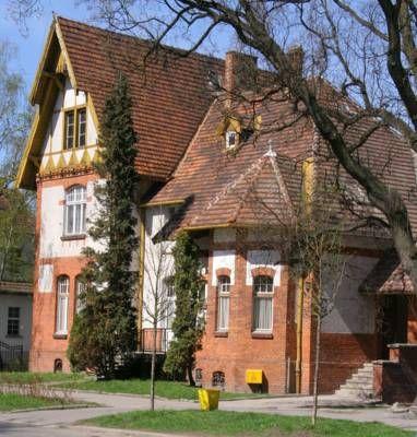 "Secesyjna willa ""Bajka"" w Inowrocławiu - pensjonat."