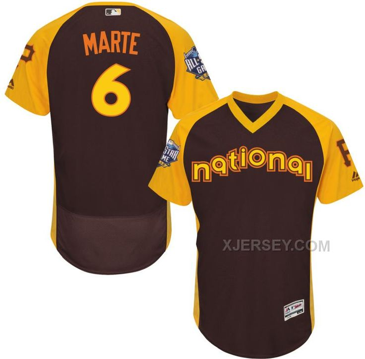 http://www.xjersey.com/national-league-pirates-6-starling-marte-brown-2016-allstar-game-flexbase-jersey.html NATIONAL LEAGUE PIRATES 6 STARLING MARTE BROWN 2016 ALL-STAR GAME FLEXBASE JERSEY Only $43.00 , Free Shipping!