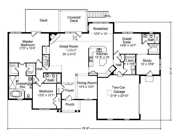 Floor plan 2553 with in law suite wouldn 39 t change a for Home plans in law suite