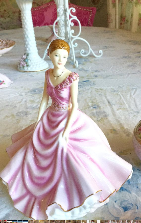 Pink Royal Doulton Figurine By Mylulabelles On Etsy