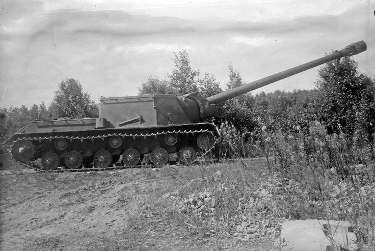 ISU-152-1 with 152,4 mm BL-8 gun