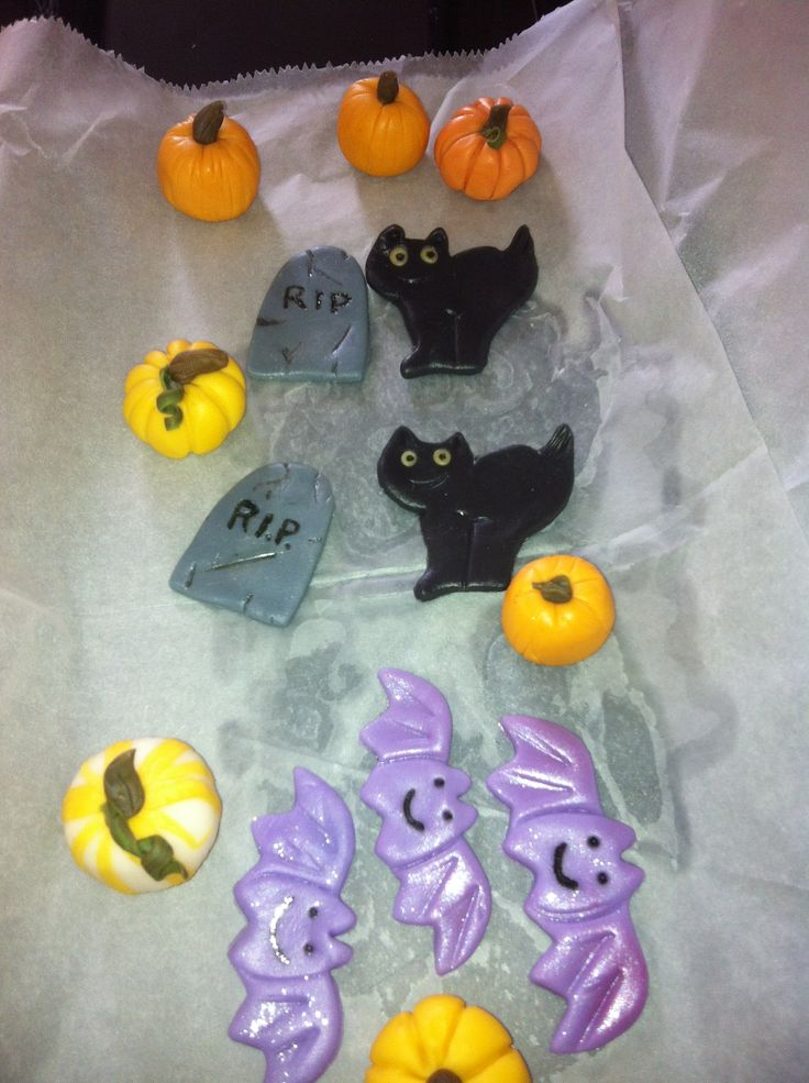 Fondant Halloween Cakes Ideas 75614 Halloween Decorations