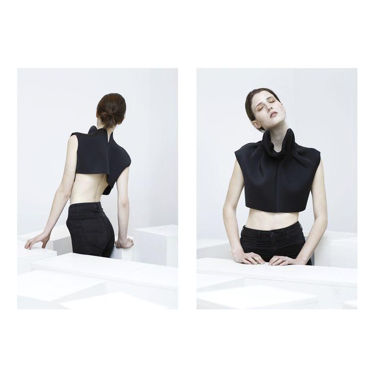 photographed by Judit Dombovari clothes by Alíz Simon make up by Dóri Lázár  designer clothes fashion styling photography minimal