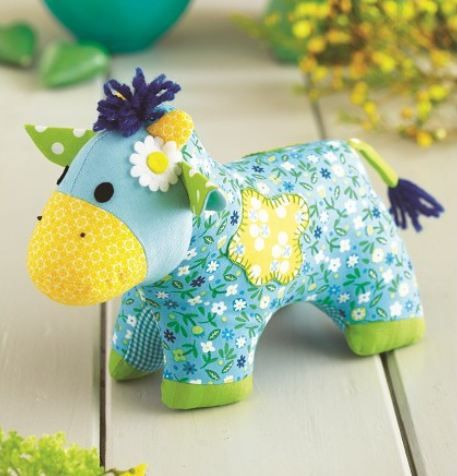 Craft Product Of The Week: Little Daisy Cow Toy Sewing Pattern