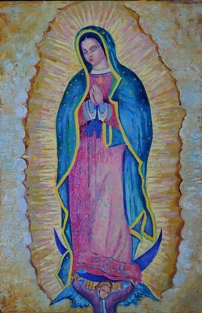 Our Lady Of Guadalupe Painting For Sale Favorites Pinterest