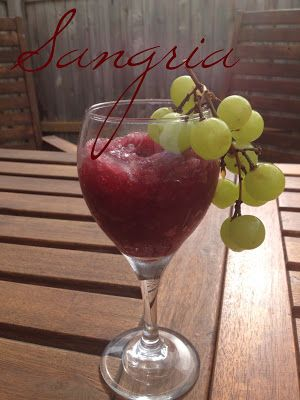 Summer Drinks! Sangria from Dry Comal Creek Vineyards and Winery