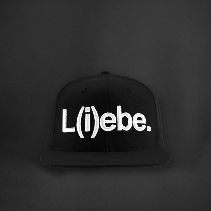 L(i)ebe Snapback black: 24,90€