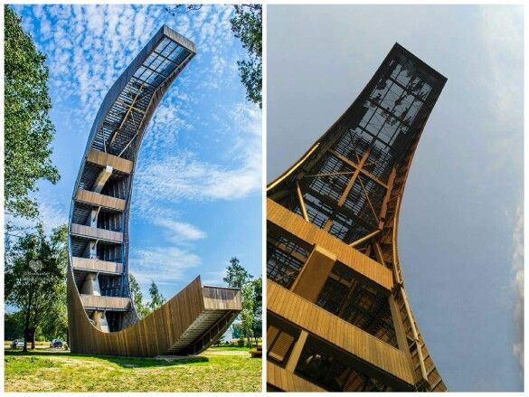 Kirkilu apzvalgos ratas. Kirkilai observation deck. Definitely a beautiful place worth visiting when traveling around Lithuania. Kirkilai, Lithuania