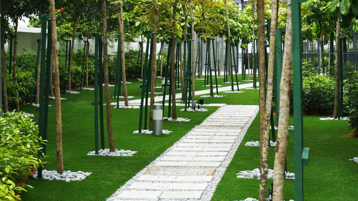 Look at this beautiful green lawn. Laid by Eco Outdoor with grass from Royal Grass. People from this Condo in Kuala Lumpur are definitely going to enjoy this!   #greenlawn #artificialgrass #artificialturf #greengarden #green #condo