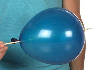 Actividades para Educación Infantil: EXPERIMENTO: el globo que no se pincha