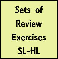 All of the exercise sets contain either answers for all of the exercises or full worked solutions for all of the exercises. Review_Qs_Intro_Diff_Calc1_SLHL  Set of 8 questions (divided into non-GDC and GDC allowed sections) covering introductory differential calculus content [worked solutions included] Review_P1_Intro_Diff_Calc_SLHL  Set of 20 Paper 1 questions (No GDC) covering the following syllabus content: definition...
