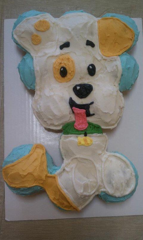 bubble guppies cupcake cake - Google Search