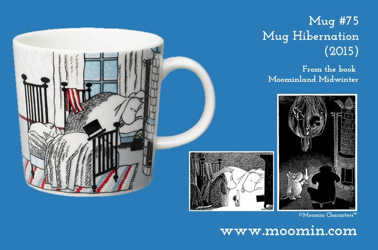75 Moomin mug Winter 2015 Hibernation