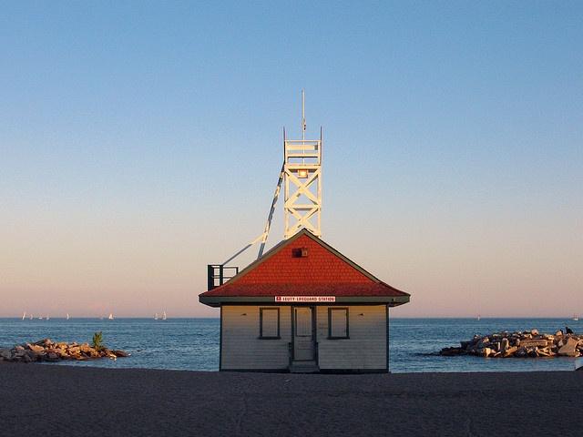 Leuty Lifeguard Station, Kew Beach, Toronto