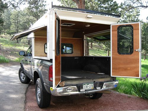 Build A Rv Cover : Best truck campers images on pinterest van