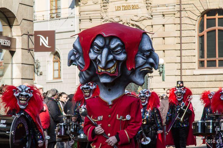 Amazing head-mask designs ! 2013 Basel Carnival