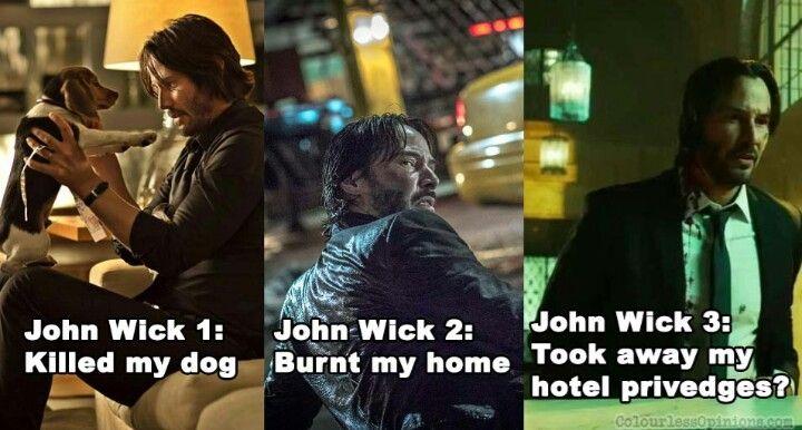 Pin By Wick Helsing On Keanu Charles Reeves John Wick Memes Funny Memes