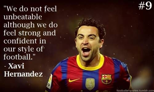 Xavi Hernandez Quotes 1000+ images about Soc...