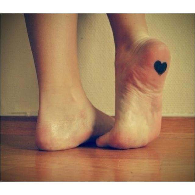 Cute foot tattoo!