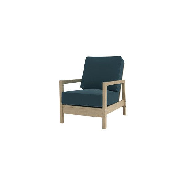 IKEA Lillberg Armchair in Teal Blue Panama Cotton - Bemz - Covers for ...