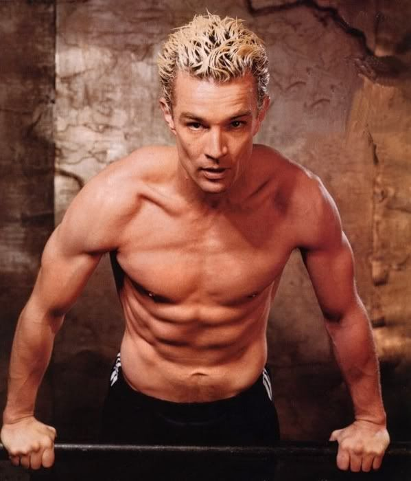 Spike -- Buffy the vampire slayer. yup still crushing on this boy