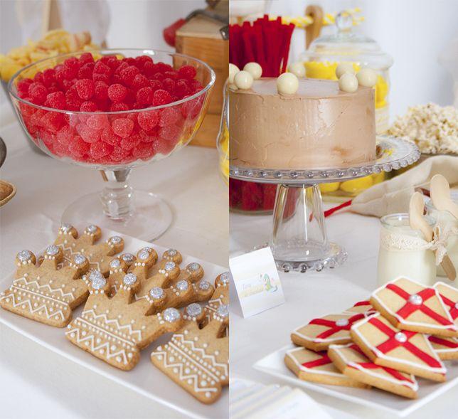 Una fiesta de caballeros y princesas (la mesa dulce) - Ahora también mamá