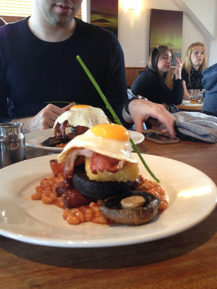 Scottish breakfast gourmet edition