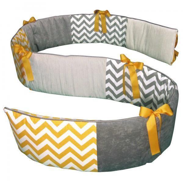 Шеврон современный серый и желтый, в горошек питомник детские 3 шт. кроватки спальный комплект
