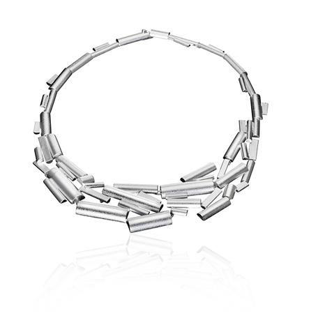 Lapponia - Silver Suma Necklace