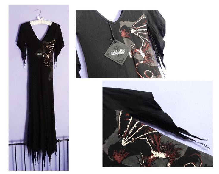 "LIP SERVICE Spellbound ""Dragon Slayer"" long dress #16-400"