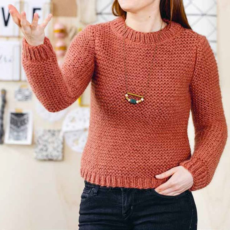 tricoter un pull facilement