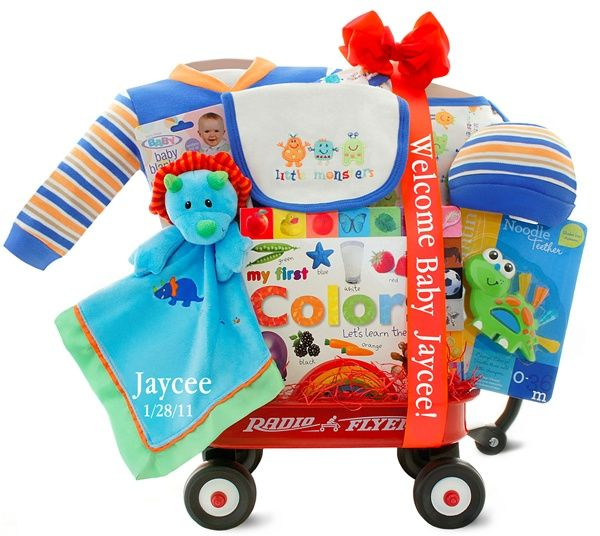 Unique Personalised Baby Gifts Ireland : Best baby shower gift baskets images on