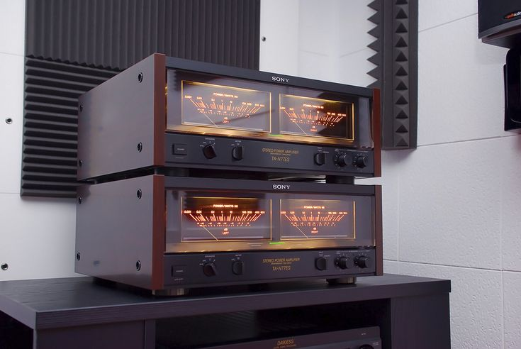 Sony TA-N77ES Power Amplifier. Sony never made a better ...