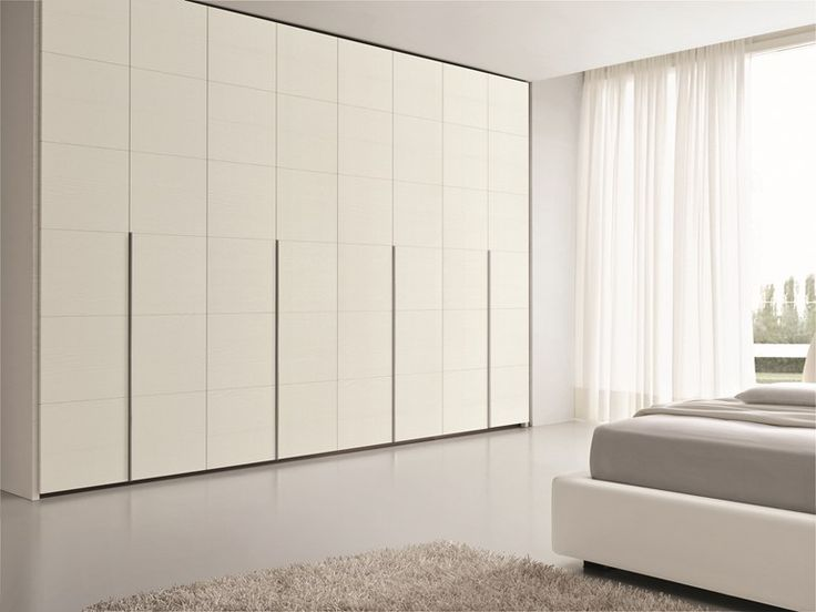 Wardrobe with folding doors SIGN Sign Collection by SMA Mobili