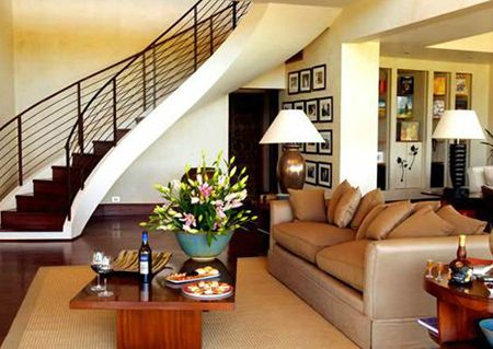 Lapostolle Residences - Guest living room area.. #Colchagua