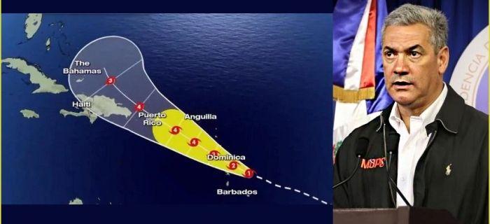 Ministerio Obras Públicas dice estar preparado realizar trabajos preventivos y restablecimiento vial eventual paso huracán Maria