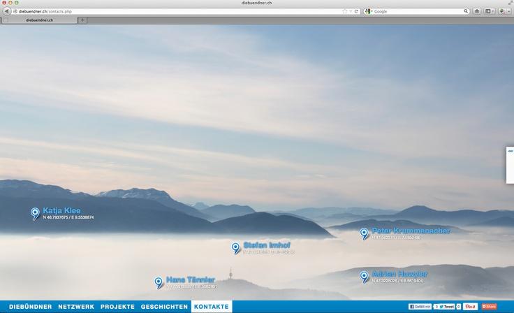 diebündner -work in progress - HTML5 Evolution 2012