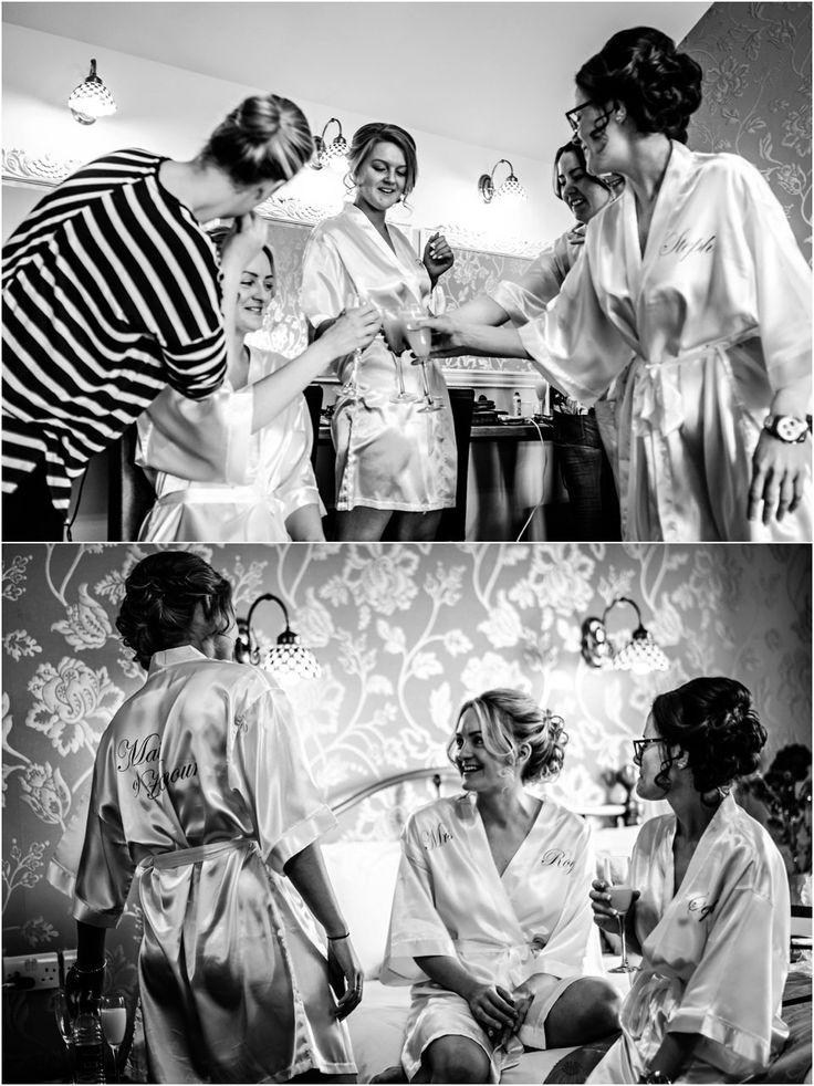 Heaton House Wedding Venue Cheshire Cris Lowis Photography Bridal Preparation Room Bride